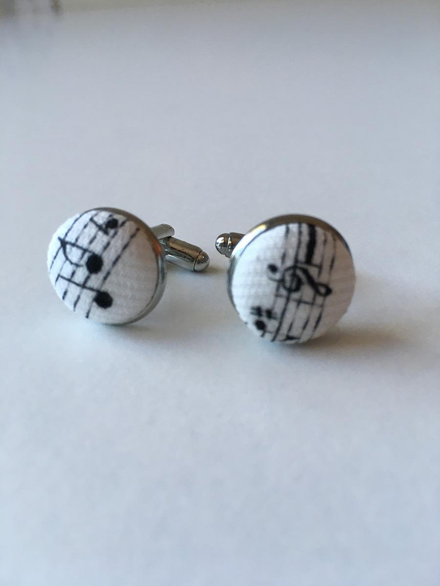 Cufflinks Music Design: Jewellery
