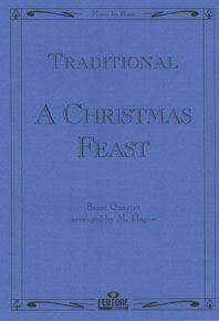 Traditional: A Christmas Feast: Brass Ensemble: Score & Parts