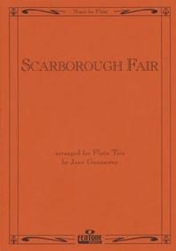 Traditional: Scarborough Fair: Flute Ensemble: Score & Parts