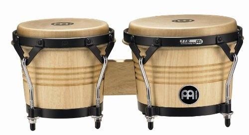 Artst Luis Conte Wood Bongo 63/4 Inch & 8 Inch Nat: Percussion