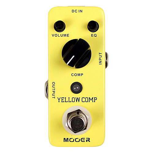 Audio Yello Comp Optical Compressor Effects Pedal: Pedal