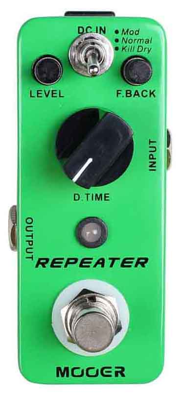 Repeater 3 Modes D/Delay Pedal: Pedal
