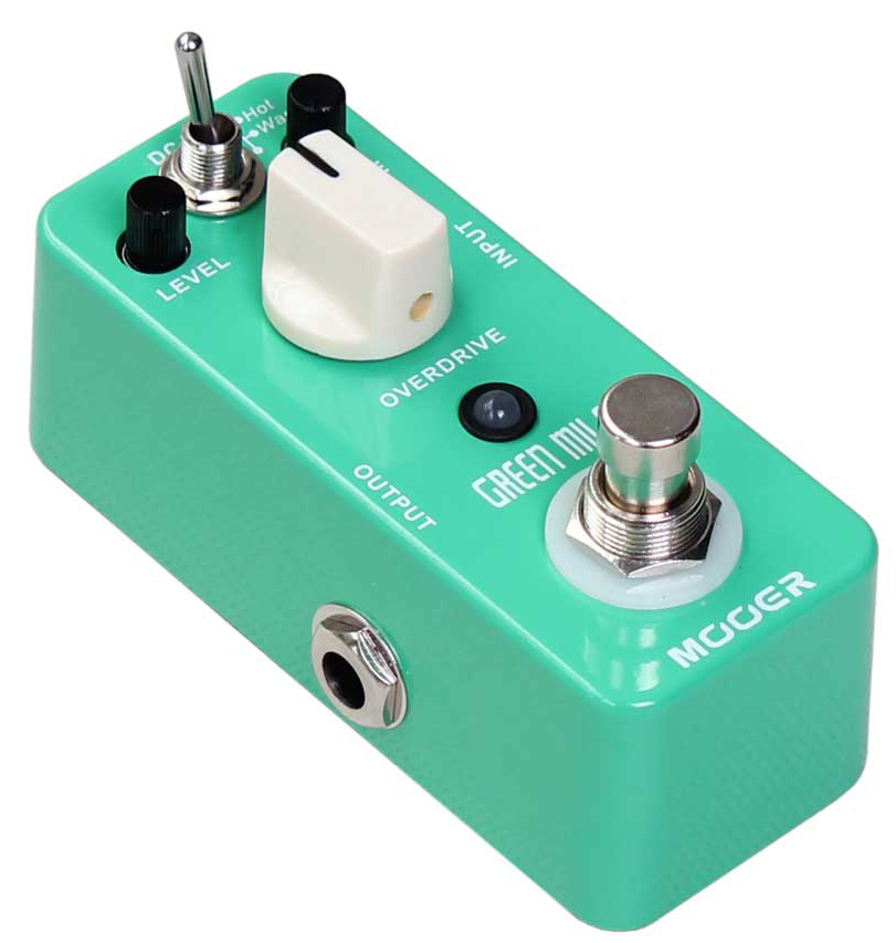 Green Mile Overdrive Pedal: Pedal