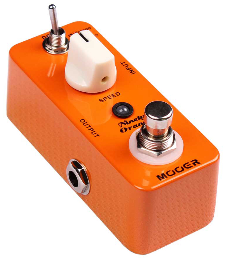 Ninety Orng Analg Phaser Pedal: Pedal