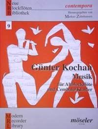 Günter Kochan: Musik: Treble Recorder: Instrumental Work