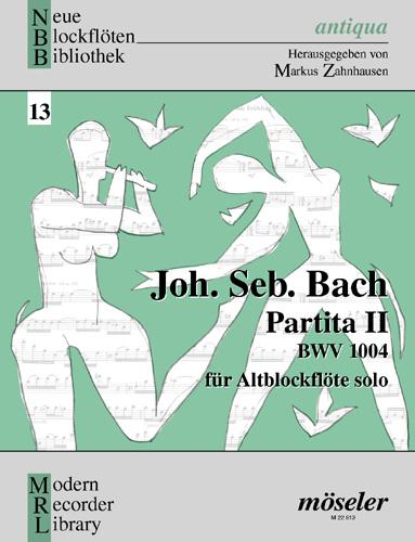 Johann Sebastian Bach: Partita 2 Bwv1004: Treble Recorder: Instrumental Work