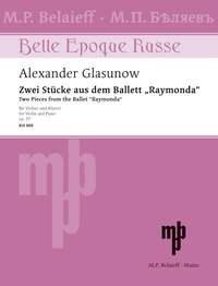 Alexander Glazunov: Trois Miniatures Op.42 - No.1: Violin: Instrumental Work