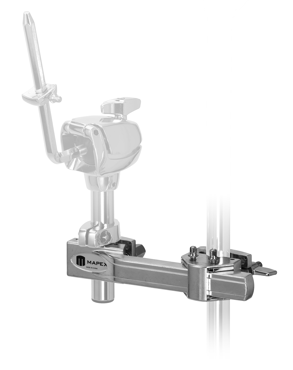 2 Way Multi Clamp Black: Instrument Stand