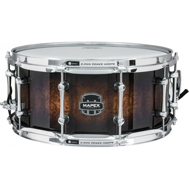 Armory Sabre 14X5.5 Maple/Walnut Shell Snare Drum: Snare Drum