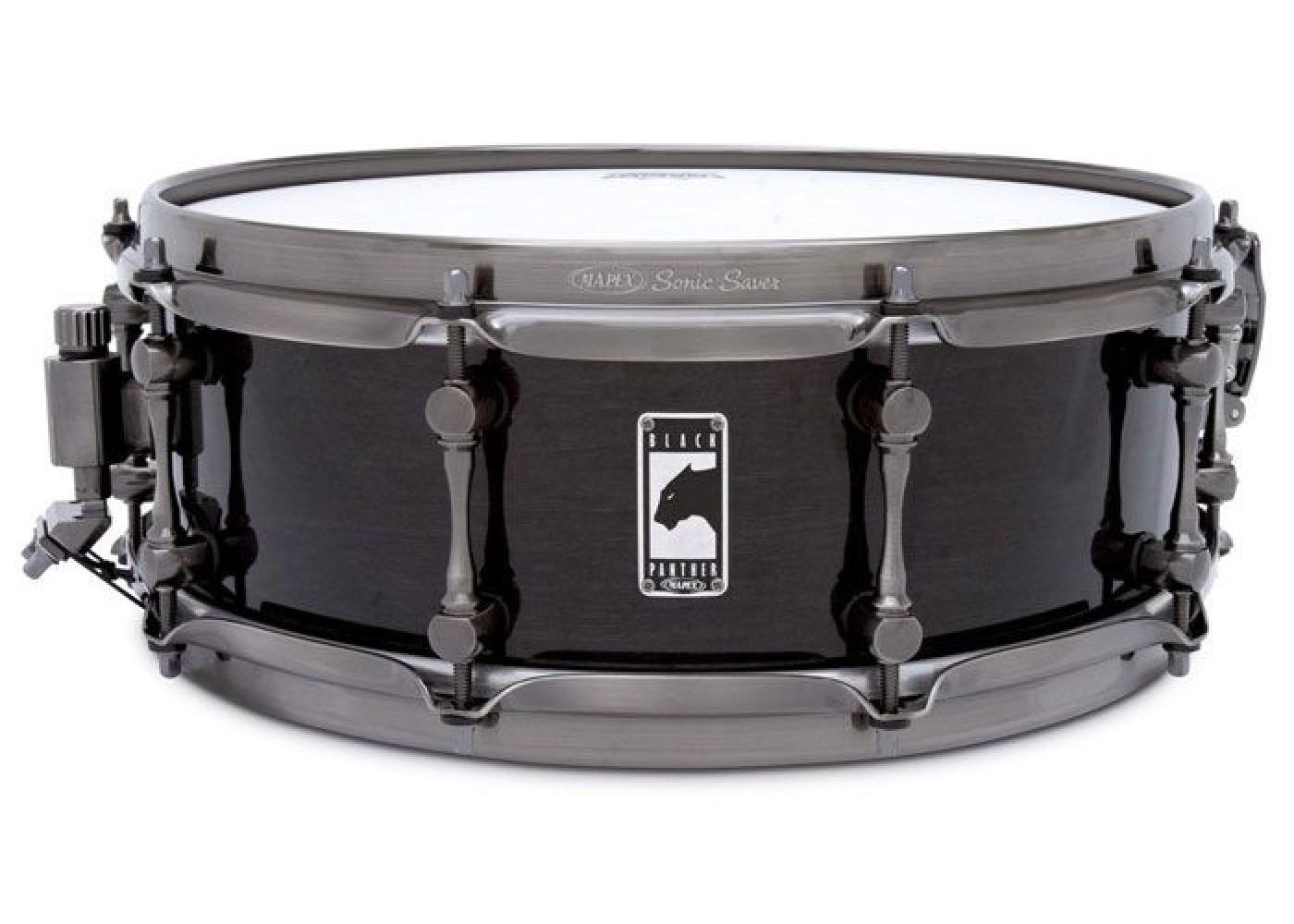 Black Panther Black Widow 14X5 Snare Drum: Drum Kit
