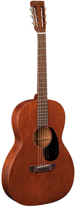 00015SM Acoustic Guitar Slotted Headstock W/ Case: Acoustic Guitar
