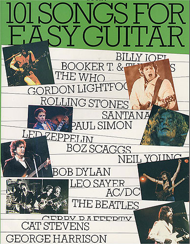 101 Songs For Easy Guitar Book 4: Voice & Guitar: Mixed Songbook