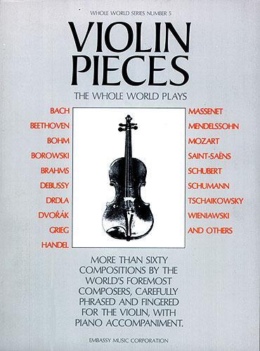 Violin Pieces The Whole World Plays-WW 5: Violin: Instrumental Album