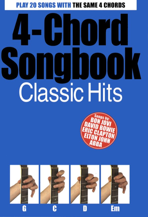 4-Chord Songbook Classic Hits: Vocal: Mixed Songbook
