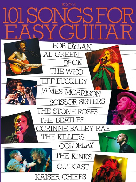 101 Songs For Easy Guitar - Book 6: Guitar: Mixed Songbook