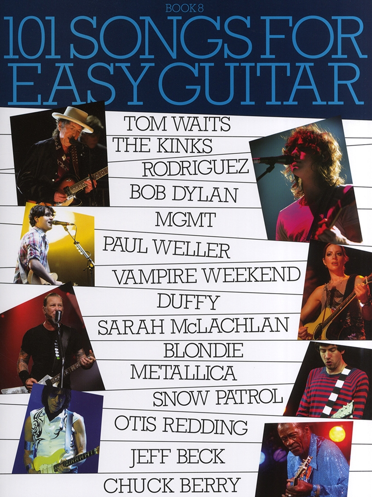 101 Songs For Easy Guitar - Book 8: Guitar: Mixed Songbook