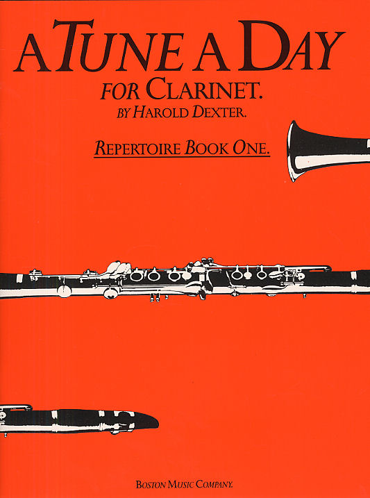 Harold Dexter: A Tune A Day For Clarinet Repertoire Book 1: Clarinet: