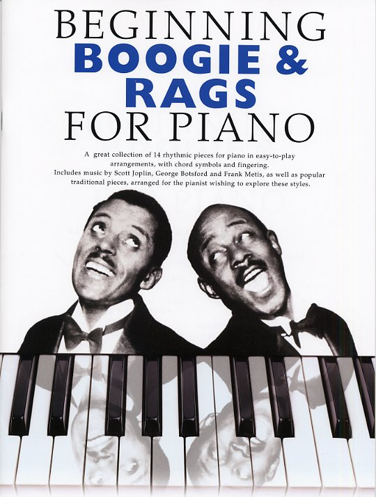 Beginning Boogie And Rags For Piano: Piano: Instrumental Album