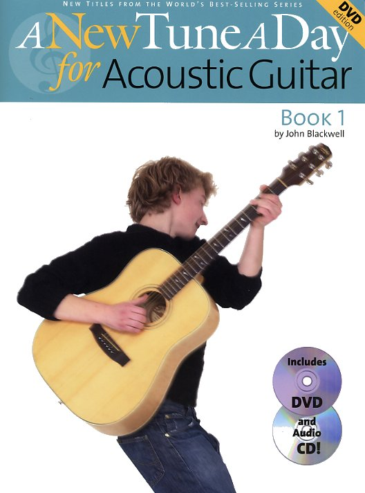 John Blackwell: A New Tune A Day: Acoustic Guitar - Book 1: Guitar: Instrumental