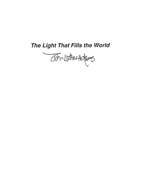 John Luther Adams: The Light That Fills The World: Chamber Ensemble: Score and