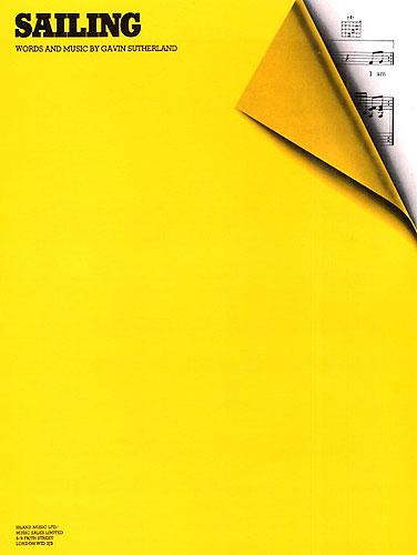Rod Stewart: Sailing: Piano Vocal Guitar: Single Sheet
