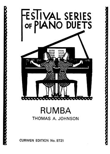 Thomas A. Johnson: Rumba: Piano Duet: Instrumental Work