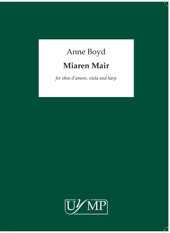 Anne Boyd: Miaren Mair: Chamber Ensemble: Score and Parts