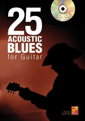 25 Acoustic Blues For Guitar: Guitar: Instrumental Tutor