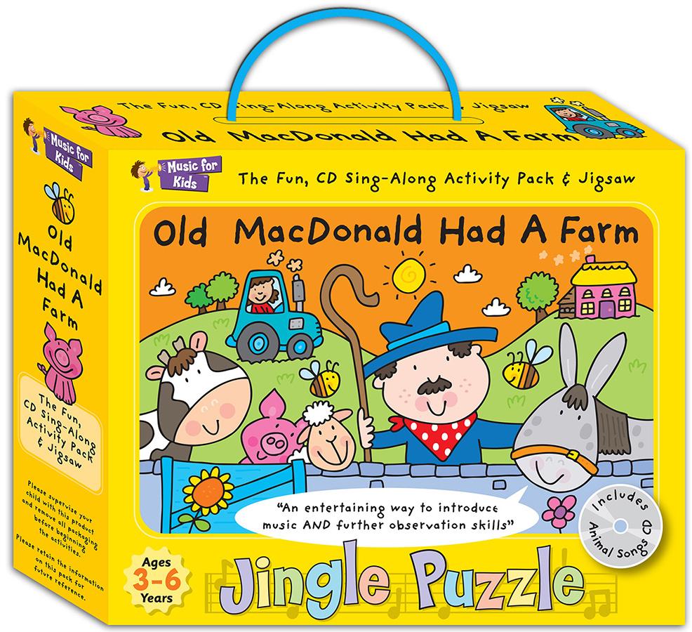 Jingle Puzzle - Old MacDonald Had A Farm: Game