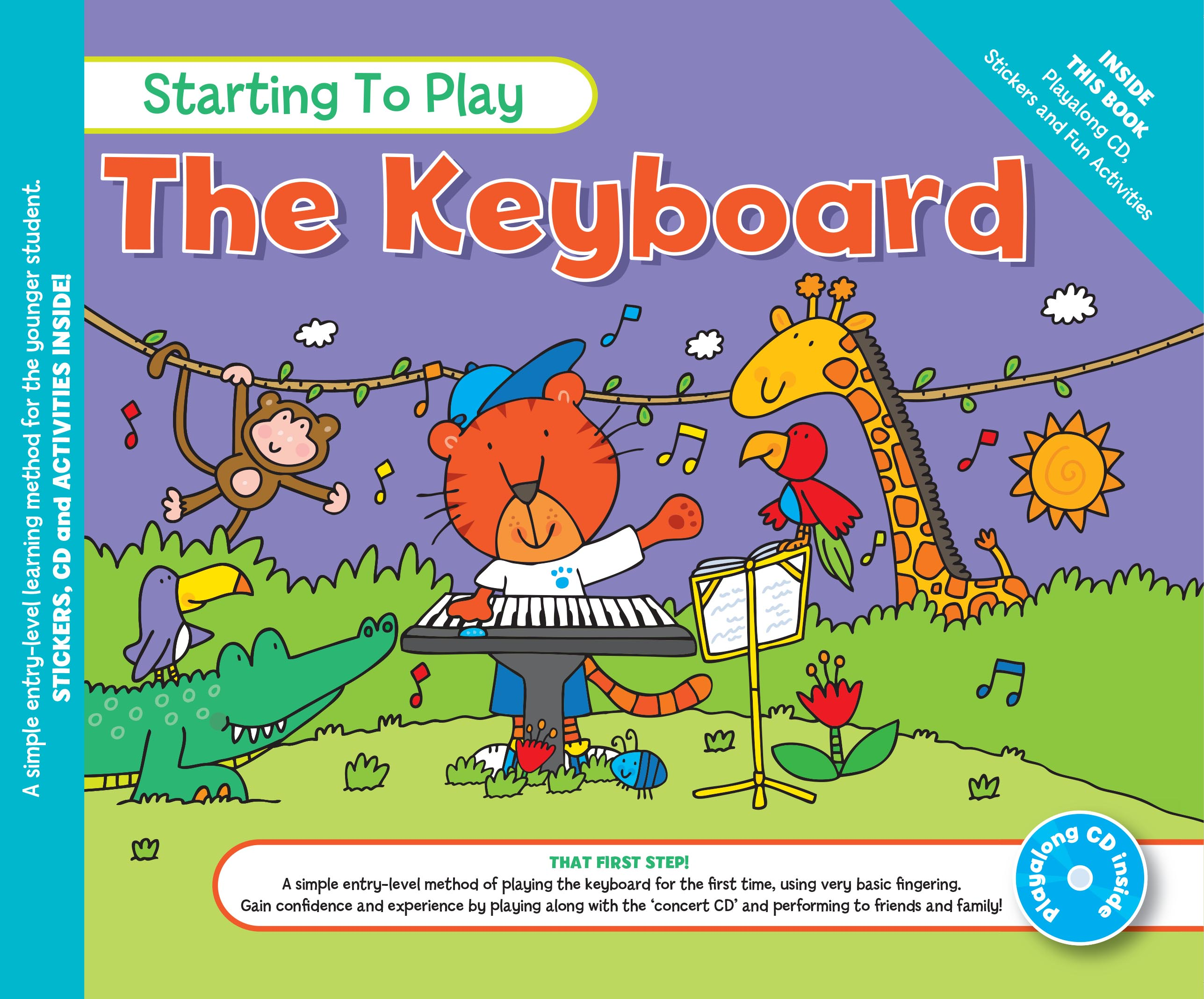 Music for Kids: Starting To Play The Keyboard: Electric Keyboard: Instrumental