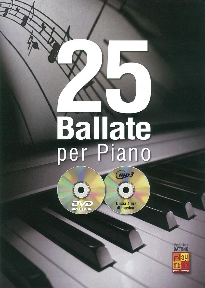 25 Ballate Per Piano: Piano: Instrumental Album