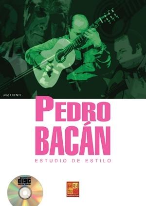 Fuente Jose Pedro Bacan Estudio Estilo Guitar Book/Cd Spanish