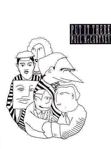 Paul McCartney: Put It There: Piano Vocal Guitar: Single Sheet