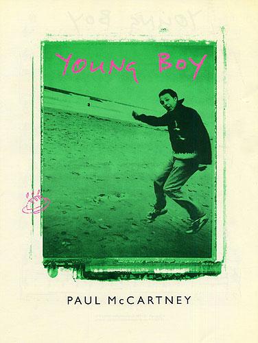 Paul McCartney: Young Boy: Piano Vocal Guitar: Single Sheet