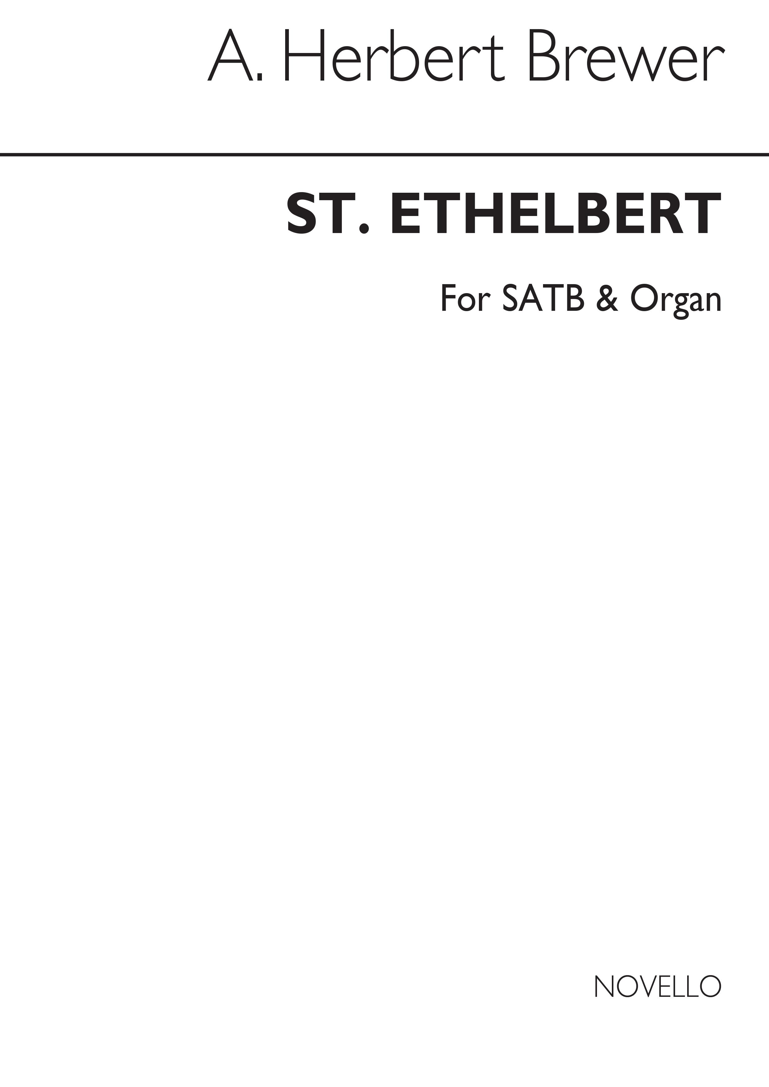 A. Herbert Brewer: St Ethelbert (Hymn-tune): SATB: Vocal Score