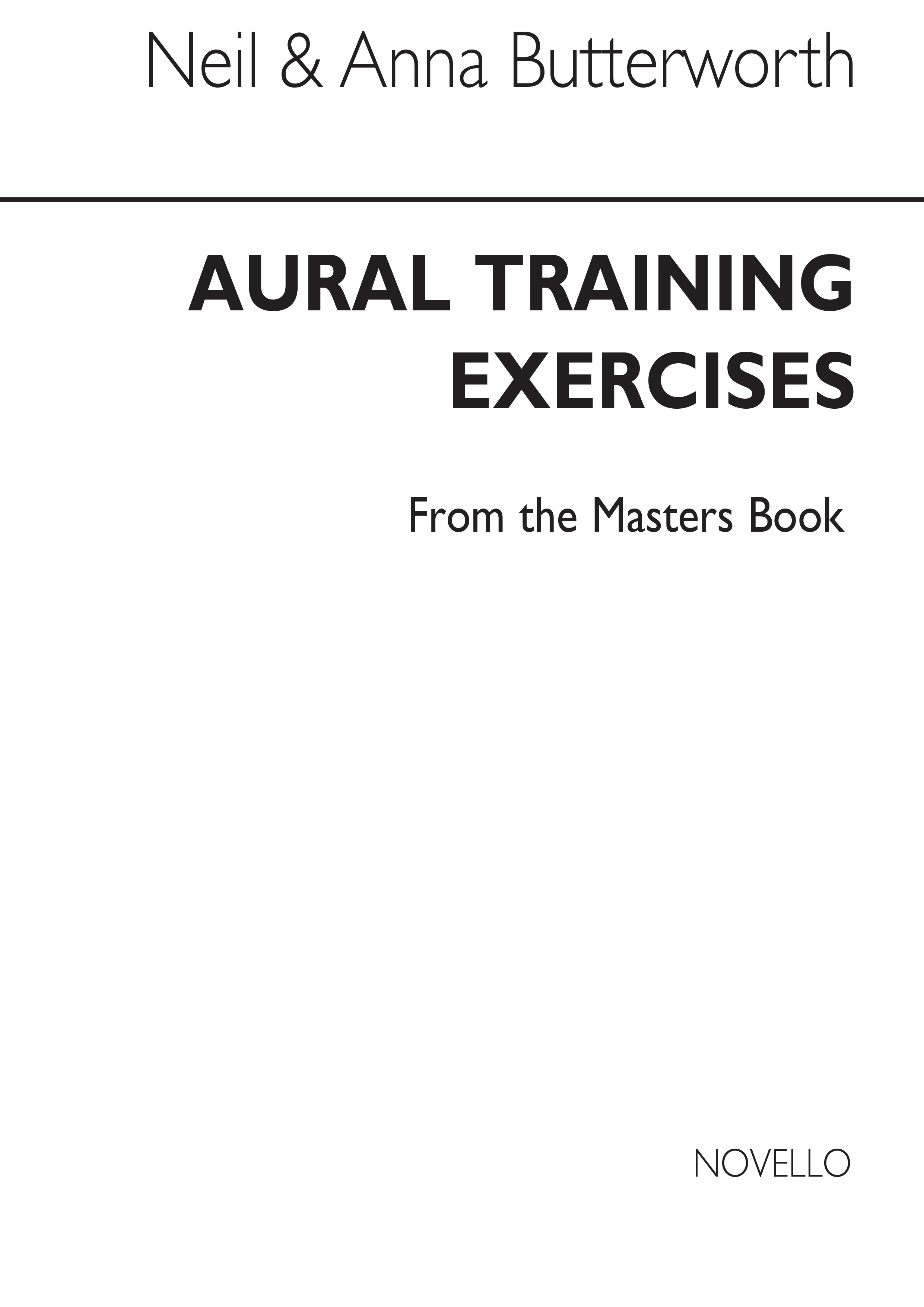 400 Aural Training Exercises From The Masters: Aural