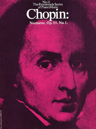 Frédéric Chopin: Nocturne Op. 55 No. 1: Piano: Score