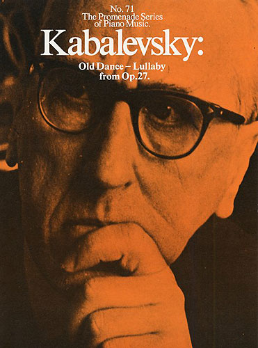 Dmitri Kabalevsky: Old Dance-Lullaby From Op. 27: Piano: Instrumental Work