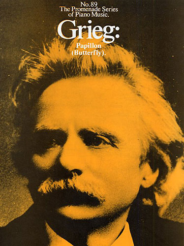Edvard Grieg: Papillon: Piano: Instrumental Work