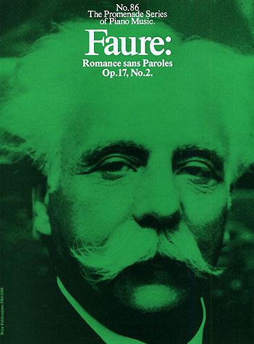 Gabriel Fauré: Romance Sans Paroles Op. 17 No. 2: Piano: Instrumental Work