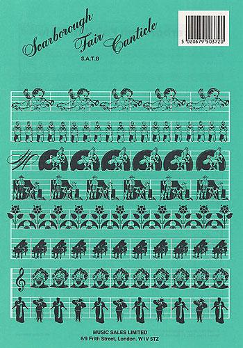 Paul Simon Simon & Garfunkel: Scarborough Fair: SATB: Vocal Score