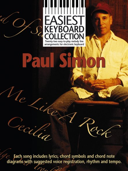 Paul Simon: Easiest Keyboard Collection: Paul Simon: Electric Keyboard: Artist