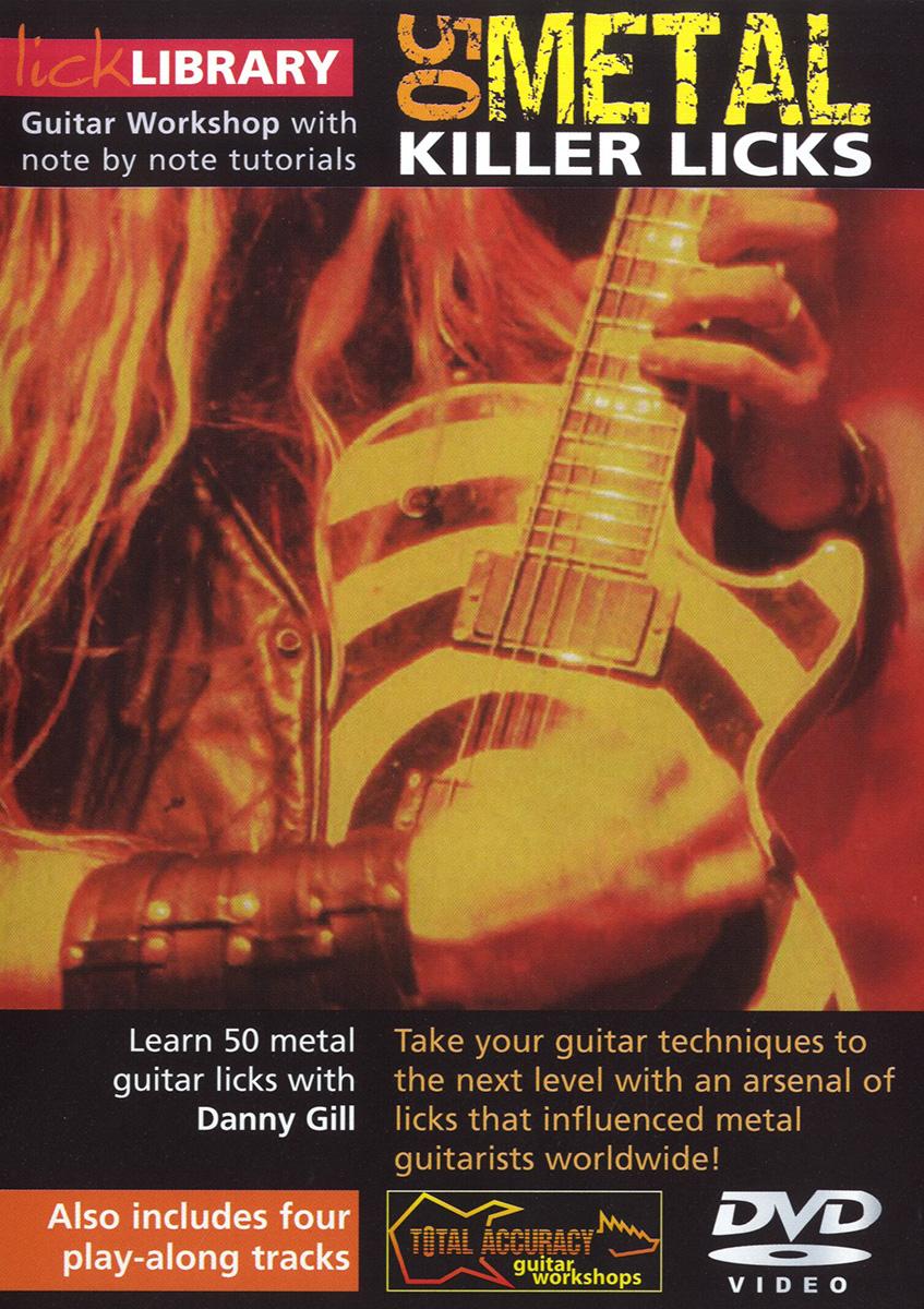 Danny Gill: 50 Metal Killer Licks: Guitar: Instrumental Tutor