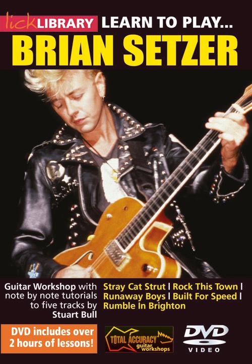 Brian Setzer: Learn To Play Brian Setzer: Guitar: Instrumental Tutor