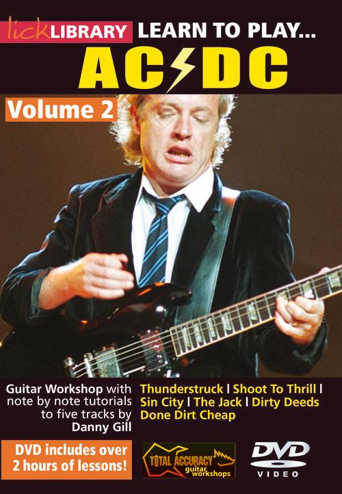 AC/DC: Learn To Play AC/DC - Volume 2: Guitar: Instrumental Tutor