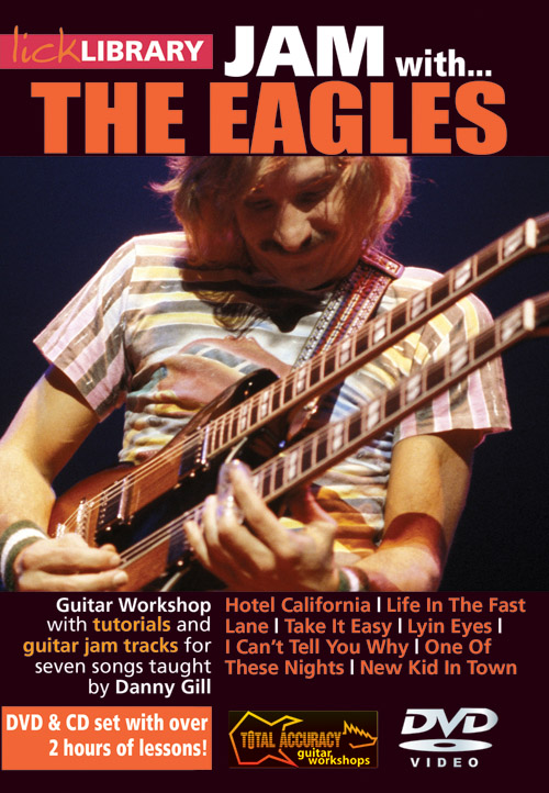 Danny Gill: Jam With The Eagles: Guitar: Instrumental Tutor