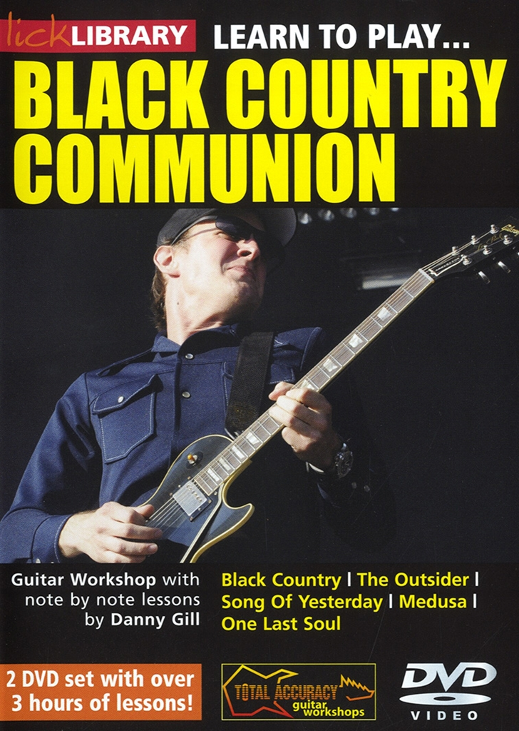 Black Country Communion: Learn To Play Black Country Communion: Guitar: