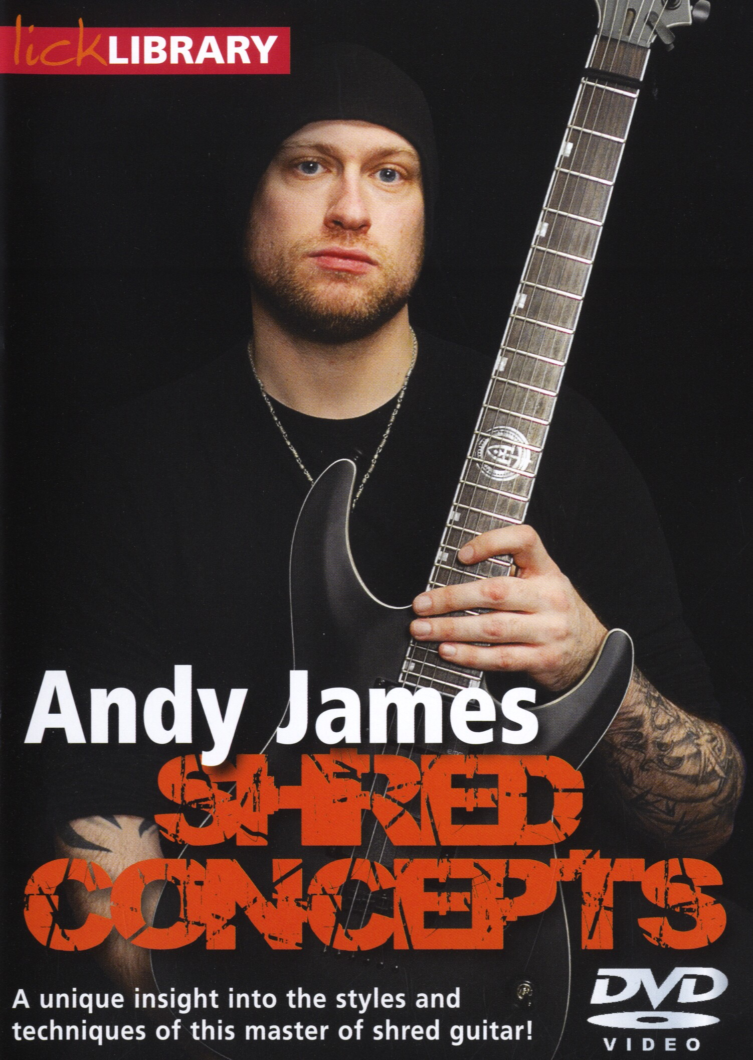 Andy James: Shred Concepts By Andy James: Guitar: Instrumental Tutor