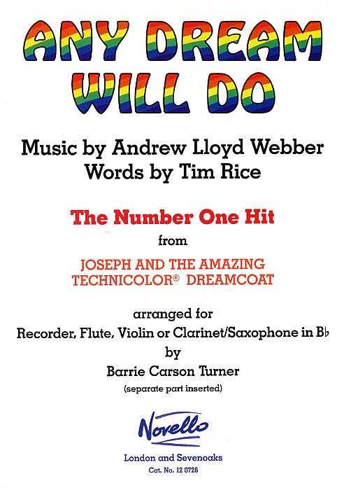 Andrew Lloyd Webber: Any Dream Will Do: Ensemble: Instrumental Work