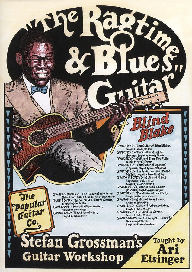 Blind Blake: The Ragtime and Blues Guitar Of Blind Blake: Guitar: Instrumental